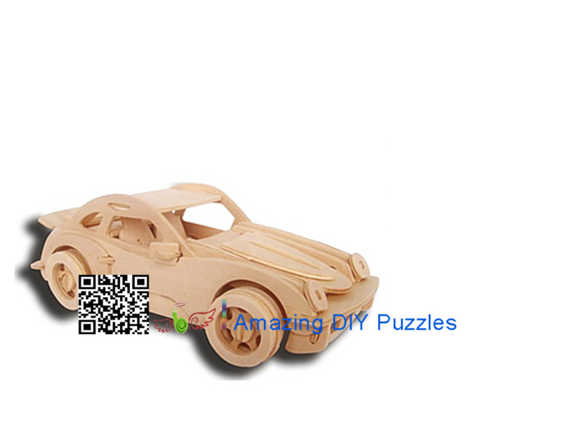 DIY toy-3D puzzle-Wooden P911 Porsche