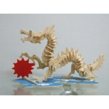 DIY toy-3D puzzle-Wooden Dragon