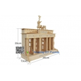 DIY toy-3D puzzle-Wooden Brandenburg gate