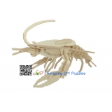 DIY toy-3D puzzle-Wooden Lobster