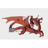 DIY toy-3D puzzle-Rosewood Flying dragon