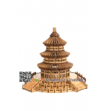 DIY toy-3D puzzle-Bamboo Temple of  heaven
