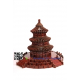 DIY toy-3D puzzle-Rosewood Temple of  heaven