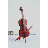 DIY toy-3D puzzle-Rosewood Cello