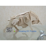 DIY toy-3D puzzle-Wooden OX