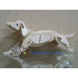 DIY toy-3D puzzle-Wooden Dog