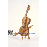 DIY toy-3D puzzle-Bamboo Cello